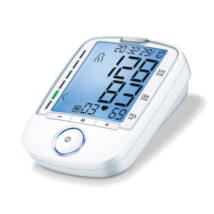 Magyarul beszélő felkaros vérnyomásmérő szívritmus-zavar jelzéssel (Sanitas SBM 52)